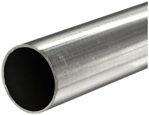 316 Stainless Steel Round Tube Od 1 2 Wall 0 083 Length 72 Welded