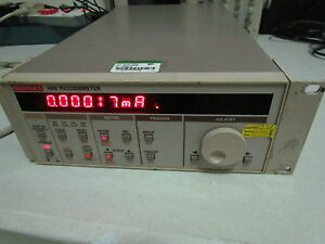 Keithley 486 Picoammeter voltage Source 10fa Sensitivity 5 1 2