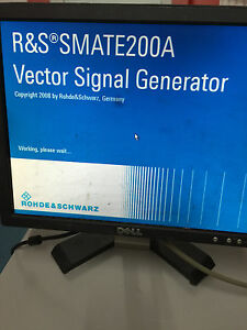 Rohde Schwarz R s Vector Signal Generator Smate200a Smate 200 Dual 3ghz