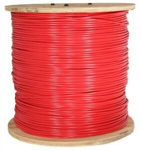 Paige 14 Awg Pe Sprinkler Copper Wire 2500 Feet Ft Spool Red Golf Part 150040c