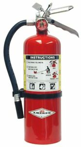 New Amerex B500 5lb Abc Dry Chemical Class A B C Fire Extinguisher