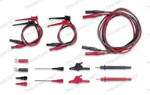 Pomona 6204a Deluxe Bench Dmm Test Lead Kit Fits Most Meters