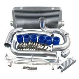 Twin Turbo Intercooler Kit W bov For 1993 2002 Toyota Supra Mk4 Mkiv 2jz gte