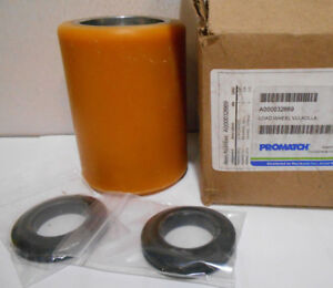 Lot Of 2 New Promatch Pallet Jack Load Wheels 4 3 8 Od X 3 1 4 1 1 8 B Id
