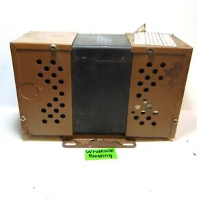 Sola Constant Voltage Transformer 23 22 112 2 Ser 81j 120va 60hz