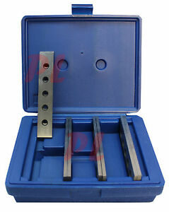 4 Pair 3 16 X 6 Steel Parallel Set 0003 Hardened Square Precision Gauge