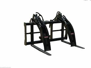 Cat Logging Forks By Bradco fits Cat It Quick Hitch Fits Loaders