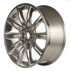 20 Polished Alloy Wheel Rim For 2010 2011 Lincoln Mkt