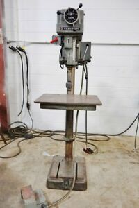 Clausing Variable Speed 20 Drill Press Model 2276 Jacobs Drill Chuck