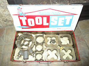 Reed Block Die Pipe Threading Set With Case 4 X 4