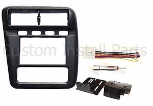 Aftermarket Radio Installation Double Din Dash Complete Kit Fits Chevy Camaro