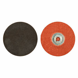 Norton 66623319022 Power Sander Quick Change Discs Size 3 40 Grit  50 EA