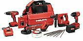 Hilti 3541638 Sfh 18 Sid 18 Wsr 18 a Cpc Combo With Mc4 Charger Cordless