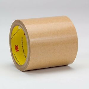3m 950 Adhesive Transfer Tape 950 Clear 6 In X 60 Yd 5 Mil 8 Rolls