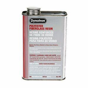 Dynatron Fiberglass Resin 692 1 Quart us 6 Per Case Price Is For 6 Can