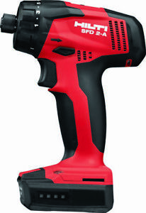 Hilti 3536728 Sfd 2 a Kit 6 Pack Cordless Systems 1 Pc