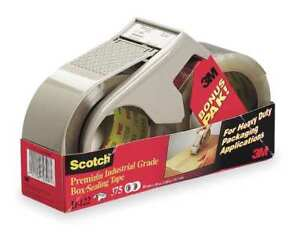 3m psd 1 Box Sealing Tape With Dispenser Psd1 Clear 48 Mm X 50 M 18 Pack