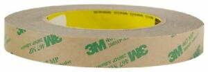 3m Adhesive Transfer Tape 467mp Clear 18 In X 180 Yd 2 0 Mil pack Of 1