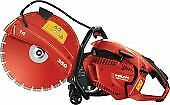 Hilti 2121541 Hand held Gas Saw Dsh 900 X 14 Cutting Sawing Grinding 1 Pc