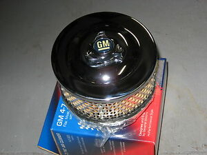 1 And 2 Barrel Chrome Air Cleaner 4 7 16 Ac Delco