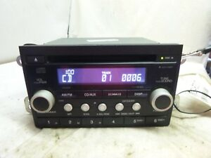 07 08 09 10 11 Honda Element Radio Cd Player W Code 39101 Scv A310 Fp22