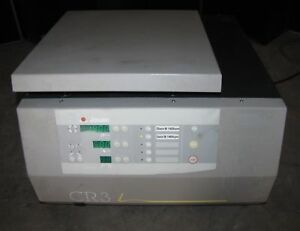 Jouan Cr3i Refrigerated Centrifuge W Rotor Buckets 2257