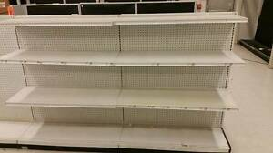 Osf Gondola Shelving Endcap Trailer Deal Used Office Supply Store Fixtures