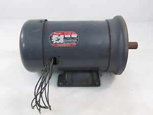 Dayton 3n346b 5 Hp 3p 230 460v Fr K184tc 1 1 8 Shaft Ac Motor Used