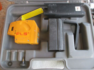 Pacific Laser Systems pls Pls5 Self Leveling Laser Level W Case Accessories