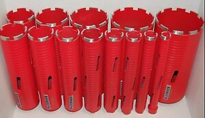 Dry Type 13 Pc 1 5 Set Diamond Coring Bit Concrete Core Drill By Bluerock Tool