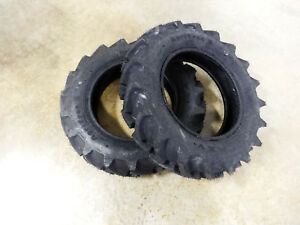 Two New 7 16 Galaxy Agritrac Ii Compact 4wd Tractor Tires 6 Ply Tubeless