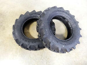 Two New 8 16 Galaxy Agritrac Ii Compact 4wd Tractor Tires 6 Ply Tubeless