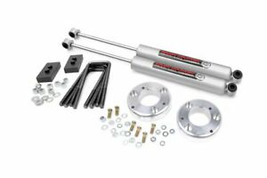 Rough Country 2 Leveling Kit With Shocks For 15 18 Ford F 150 4wd 2wd