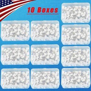 1000pcs Dental Rubber Prophy Angle Cup Tooth Polish Cups Brush Latch Type Webbed