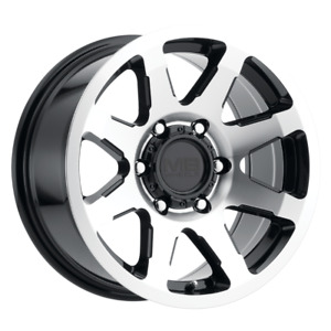 Set 4 16x8 10 6x139 7 6x5 5 Mb Legacy Black Wheels rims 16 Inch 60020