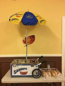 Sabrett Hot Dog Table Top Cart New From Auth Dealer