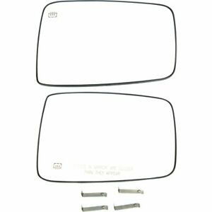 Right Left Side New Mirror Glass Heated For Truck Lh Rh Dodge Ram 1500 2500 10