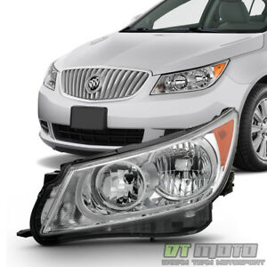 Driver Side For 2010 2011 2012 2013 Buick Lacrosse Halogen Headlight Headlamp