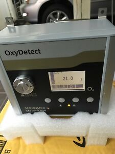 Servomex O2 Analyzer Oxydetect Paramagnetic Oxygen Analyzer Calibrated In Box