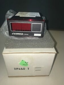 Omega Engineering Dp460 T Digital Panel Thermometer For Thermocouple
