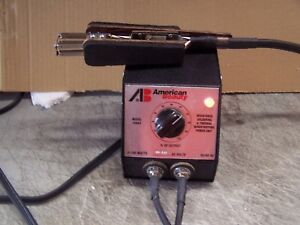 American Beauty 105a3 Resistance J Soldering Power Unit 100w And Thermal Tweezer