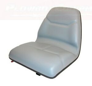 Tractor Seat For Allis Chalmers Bobcat Case Ih Ford Kubota Massey Yanmar White