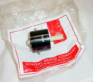 Nos General Radio 974 s13 100k Ohms Potentiometer W ct 50k