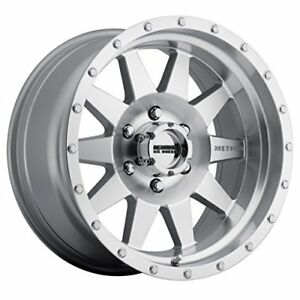 Method Race Wheels The Standard Machined Wheel With Matte Clear Coat 20x9 5x1