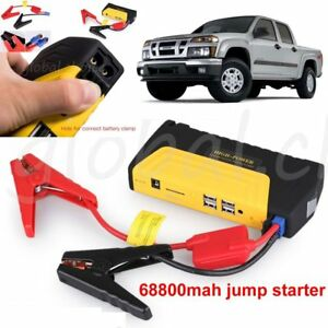 12v 68800mah Multi function Car Jump Starter Battery Charger Power Bank Booster