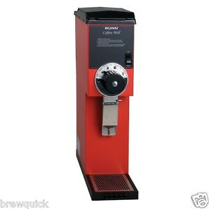 Bunn G3 Hd 3 Lb Red Bulk Coffee Grinder