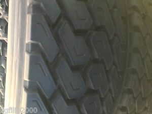 One Commercial Truck Tire11r24 5 Goodyear Recap Tire Mixed Casings