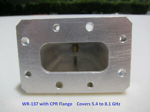 Waveguide Wr 137 Termination To Sma With Cmr Flange 5 4 To 8 1 Ghz