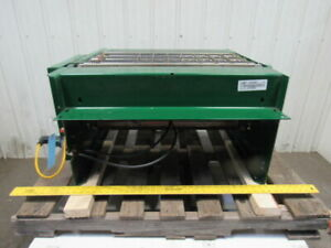 Dematic 30 w Fixed Skewed Wheel Right Angle Diverting Sorting Conveyor