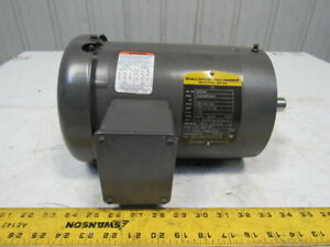 Baldor Vm3546t 1hp 1750rpm 208 230 460v 143tc 7 8 Shaft Ac Motor